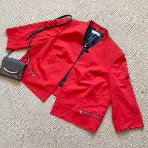 Tahari Red Blazer